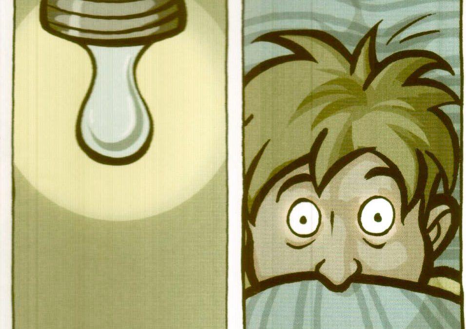Bande dessinée voor Drs. P