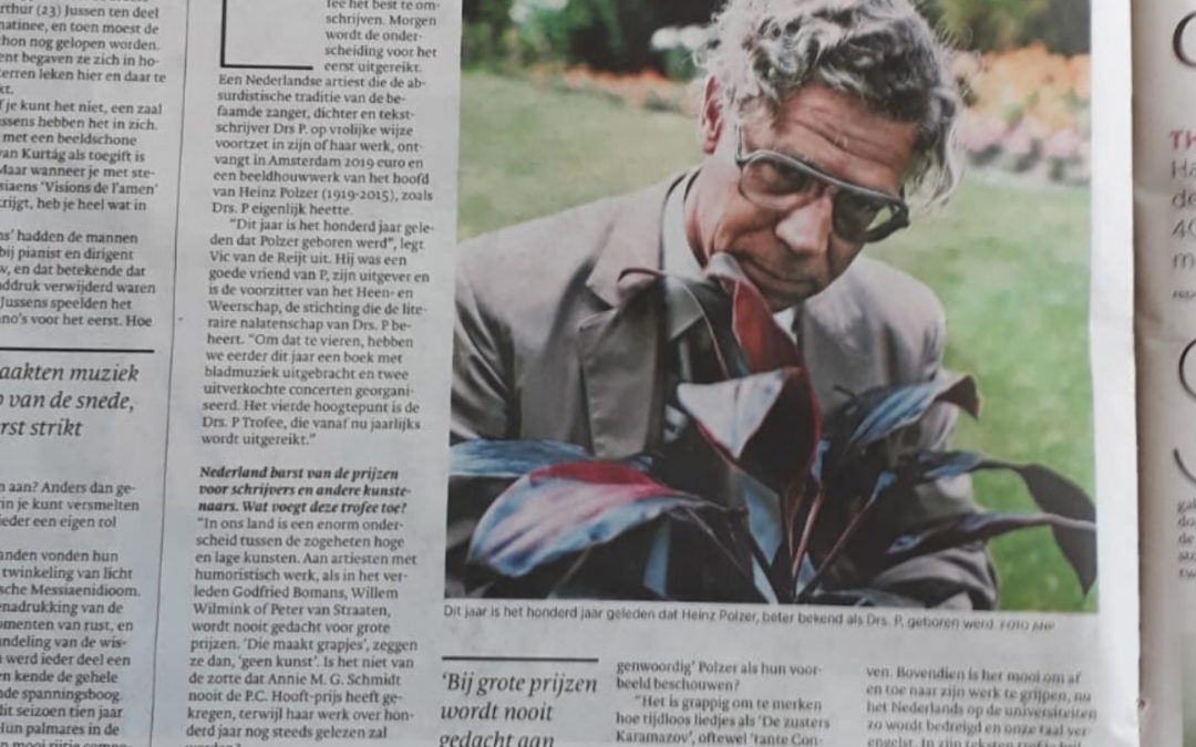 Artikel in Trouw