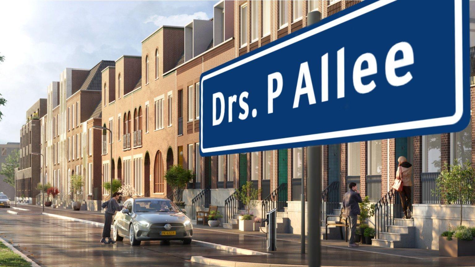 Drs P Allee Nieuw-Kralingen