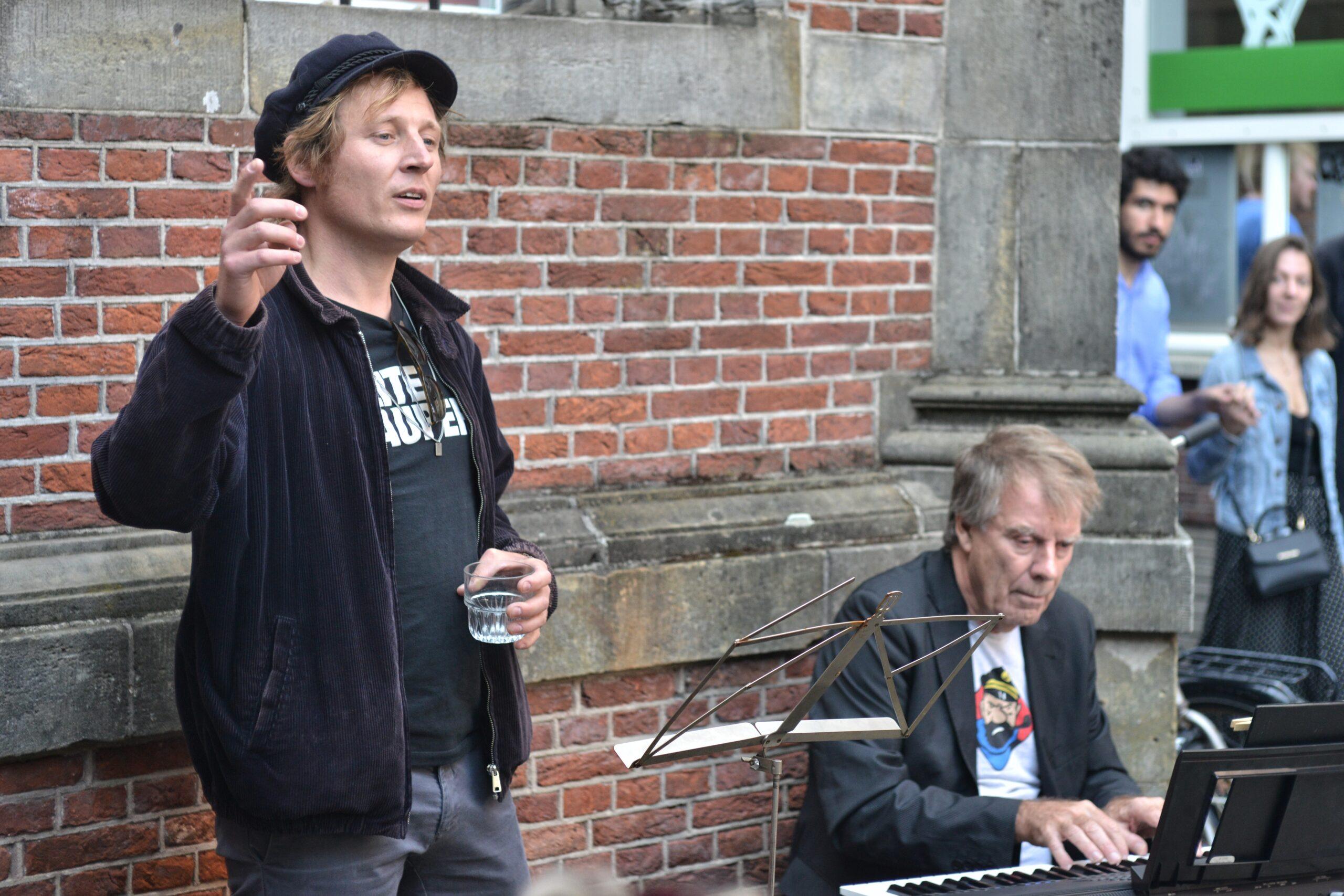 Lucky Fonz III en Jan Robijns